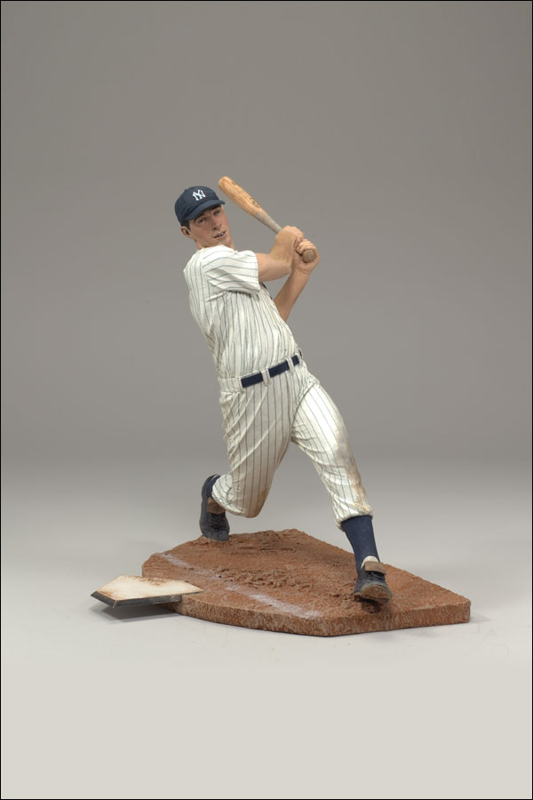 2007 McFarlane Baseball Cooperstown Collection Series 4 #30 Joe DiMaggio