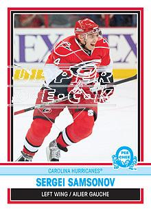 2009-10 O-Pee-Chee Retro Rainbow #4 Sergei Samsonov