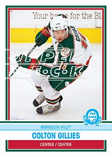 2009-10 O-Pee-Chee Retro Rainbow #10 Colton Gillies