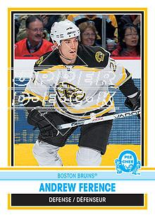 2009-10 O-Pee-Chee Retro Rainbow #21 Andrew Ference