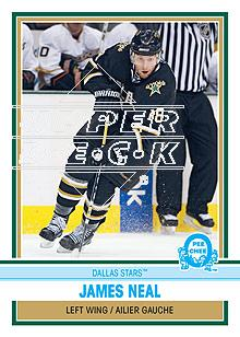 2009-10 O-Pee-Chee Retro Rainbow #25 James Neal
