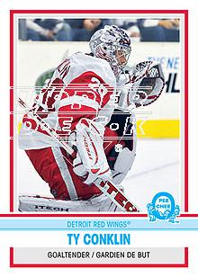 2009-10 O-Pee-Chee Retro Rainbow #26 Ty Conklin
