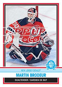 2009-10 O-Pee-Chee Retro Rainbow #30 Martin Brodeur