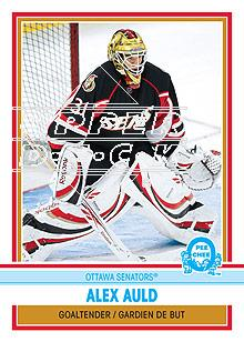 2009-10 O-Pee-Chee Retro Rainbow #32 Alex Auld