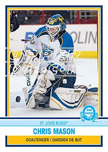2009-10 O-Pee-Chee Retro Rainbow #35 Chris Mason