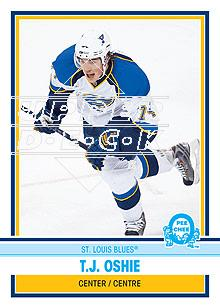 2009-10 O-Pee-Chee Retro Rainbow #54 T.J. Oshie