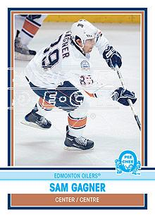 2009-10 O-Pee-Chee Retro Rainbow #65 Sam Gagner