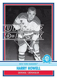2009-10 O-Pee-Chee Retro Rainbow #574 Harry Howell L