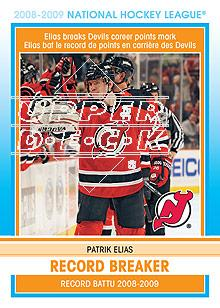 2009-10 O-Pee-Chee Record Breakers #RB4 Patrik Elias