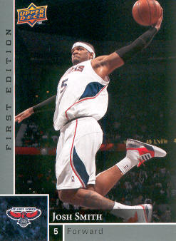2009-10 Upper Deck First Edition #1 Josh Smith