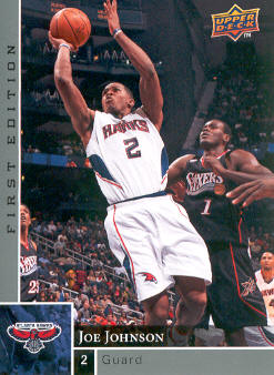 2009-10 Upper Deck First Edition #4 Joe Johnson