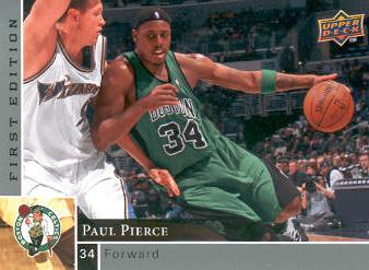 2009-10 Upper Deck First Edition #7 Paul Pierce