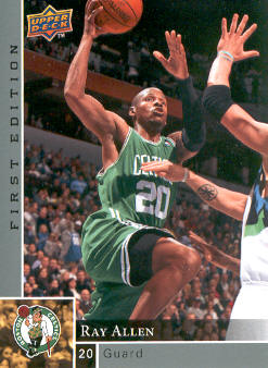 2009-10 Upper Deck First Edition #8 Ray Allen