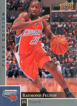 2009-10 Upper Deck First Edition #11 Raymond Felton