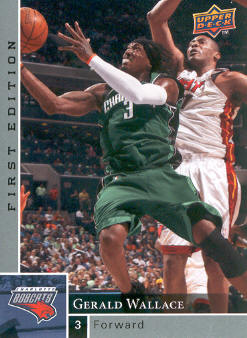 2009-10 Upper Deck First Edition #14 Gerald Wallace