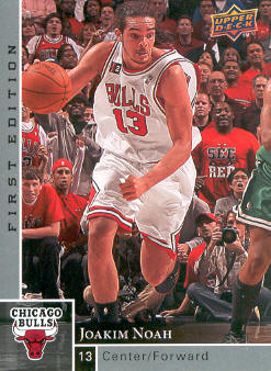 2009-10 Upper Deck First Edition #21 Joakim Noah