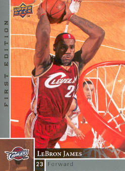 2009-10 Upper Deck First Edition #24 LeBron James