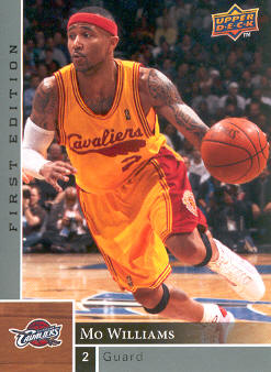 2009-10 Upper Deck First Edition #25 Mo Williams