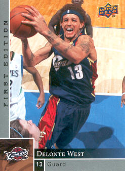 2009-10 Upper Deck First Edition #27 Delonte West