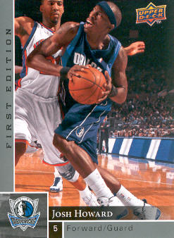 2009-10 Upper Deck First Edition #30 Josh Howard