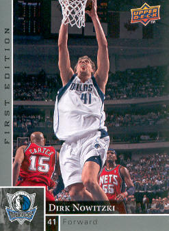 2009-10 Upper Deck First Edition #31 Dirk Nowitzki