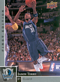 2009-10 Upper Deck First Edition #34 Jason Terry