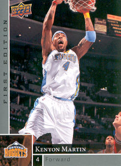 2009-10 Upper Deck First Edition #37 Kenyon Martin