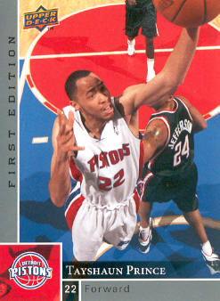 2009-10 Upper Deck First Edition #42 Tayshaun Prince