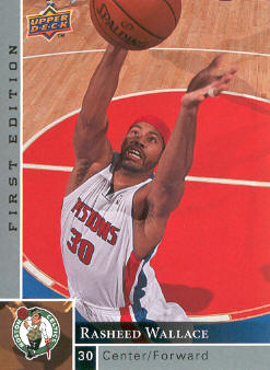 2009-10 Upper Deck First Edition #45 Rasheed Wallace