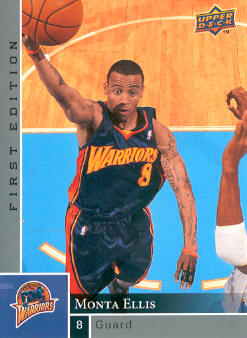 2009-10 Upper Deck First Edition #46 Monta Ellis