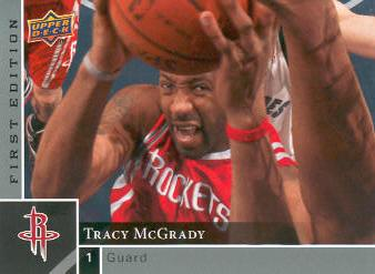 2009-10 Upper Deck First Edition #53 Tracy McGrady