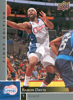 2009-10 Upper Deck First Edition #65 Baron Davis