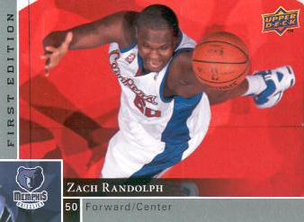 2009-10 Upper Deck First Edition #67 Zach Randolph