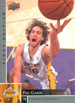 2009-10 Upper Deck First Edition #70 Pau Gasol