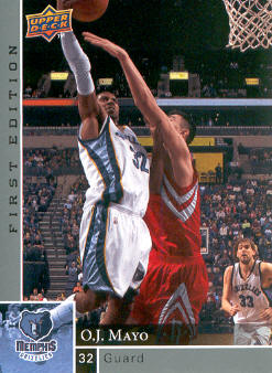2009-10 Upper Deck First Edition #76 O.J. Mayo