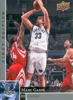 2009-10 Upper Deck First Edition #77 Marc Gasol