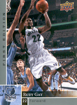 2009-10 Upper Deck First Edition #78 Rudy Gay