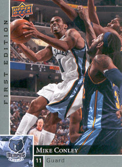 2009-10 Upper Deck First Edition #81 Mike Conley