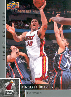 2009-10 Upper Deck First Edition #82 Michael Beasley