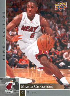 2009-10 Upper Deck First Edition #83 Mario Chalmers