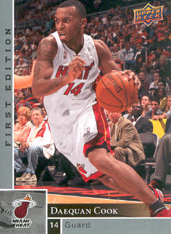 2009-10 Upper Deck First Edition #87 Daequan Cook