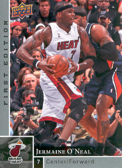 2009-10 Upper Deck First Edition #88 Jermaine O'Neal