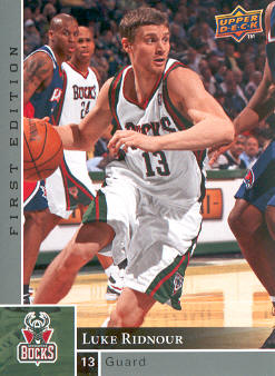 2009-10 Upper Deck First Edition #89 Luke Ridnour