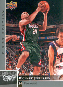 2009-10 Upper Deck First Edition #91 Richard Jefferson