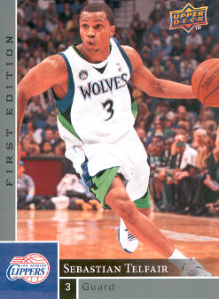 2009-10 Upper Deck First Edition #96 Sebastian Telfair