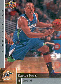 2009-10 Upper Deck First Edition #98 Randy Foye