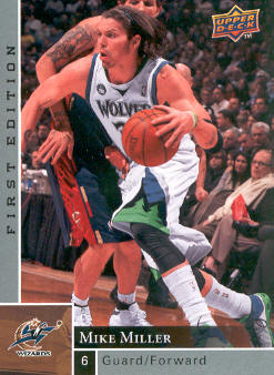 2009-10 Upper Deck First Edition #99 Mike Miller