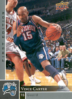 2009-10 Upper Deck First Edition #101 Vince Carter