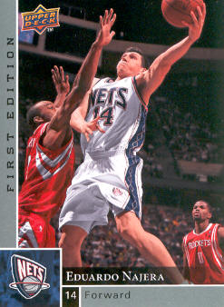 2009-10 Upper Deck First Edition #105 Eduardo Najera