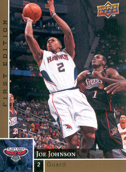 2009-10 Upper Deck First Edition Gold #4 Joe Johnson